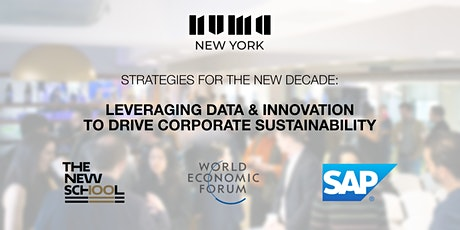 Leveraging Data and Innovation to Drive Corporate Sustainability tickets