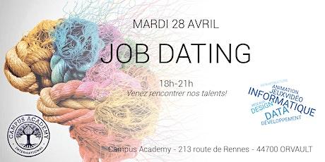 Job Dating Campus Academy - Venez rencontrer nos talents ! tickets