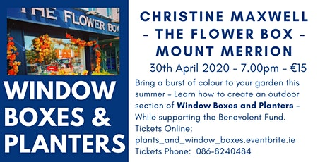 Window Boxes & Planters tickets