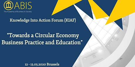 Towards a Circular Economy in Business Practice and Education  tickets