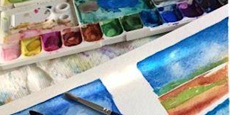 """'Watercolor 2""""  Class - Beyond the Basics Art Class tickets"""