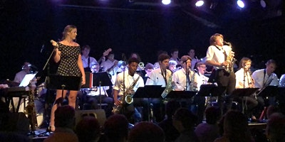 McLean High School and Longfellow Middle School Big Band Jam