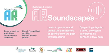 Soundscapes/Seiniau, Imagine AR @Old Colwyn Tues 28 Apl x 5 weeks tickets