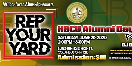 REP YOUR YARD: HBCU & Black Alumni Day Party tickets