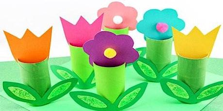 Paper Roll Flower tickets