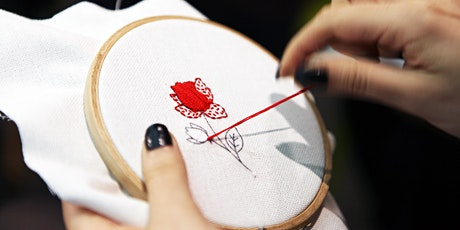 Spring Floral Embroidery Workshop tickets