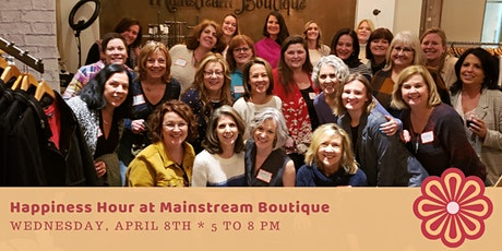 Happiness Hour at Mainstream Boutique, Get Styled with Kyle Dyer 4-8 tickets
