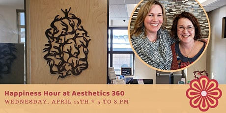 CampConnections Happiness Hour Aesthetics 360 Face and Body Center 4-15 tickets