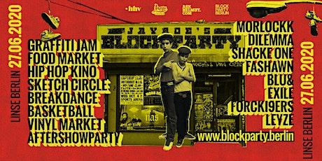 Jayroe's BLOCK PARTY BERLIN Tickets