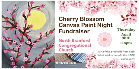 Cherry Blossom Paint Night Fundraiser tickets