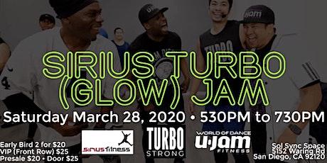 Sirius Turbo (GLOW) Jam with Mike, Nasara, Charles, & Sam tickets