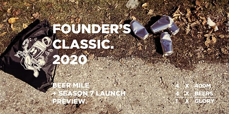 FOUNDERS' CLASSIC BEER MILE 2020 tickets