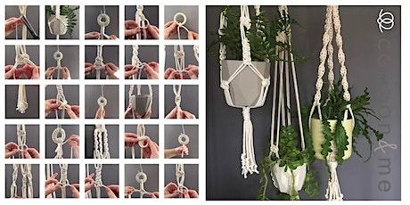Macrame Plant Hanger Workshop  - Lewes tickets