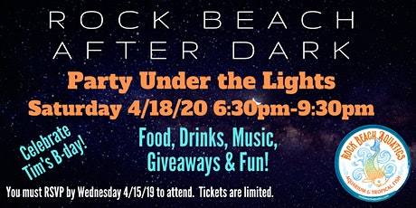 """RBA After Dark """"Party Under the Lights"""" tickets"""