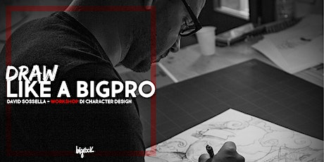 Workshop di Character Design con David Sossella biglietti