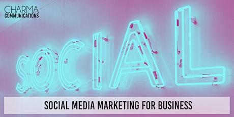 Social Media Marketing for Business - Online Webinar tickets