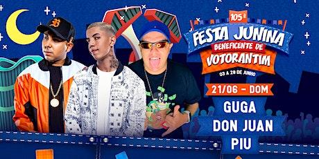 GUGA, DON JUAN E PIU - FESTA JUNINA BENEFICENTE DE VOTORANTIM 2020