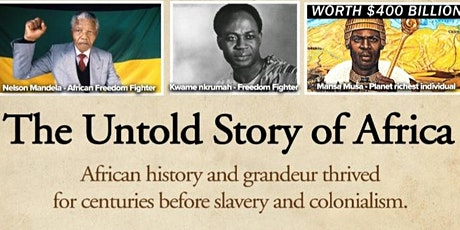 The Untold Stories of Africa tickets