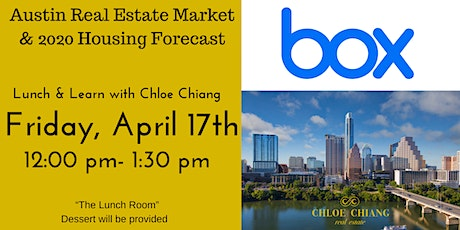 Lunch & Learn with Chloe Chiang  tickets