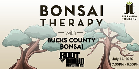 Bonsai Therapy at Root Down Brewing Company tickets
