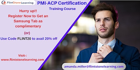 PMI-ACP Certification Training Course in Colfax, CA tickets