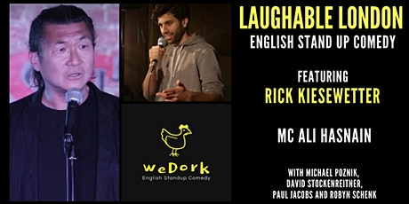 Laughable London English Standup Comedy with headliner Rick Kiesewetter tickets