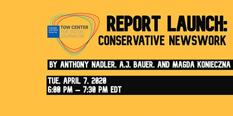 Report Launch: Conservative Newswork tickets