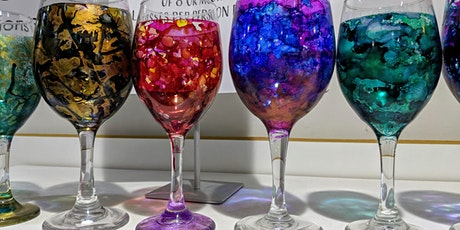 Create a Pair of Inked Wine Glasses tickets