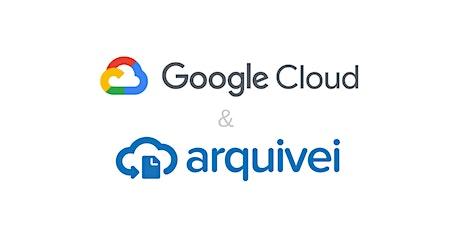 Meetup Google & Arquivei ingressos