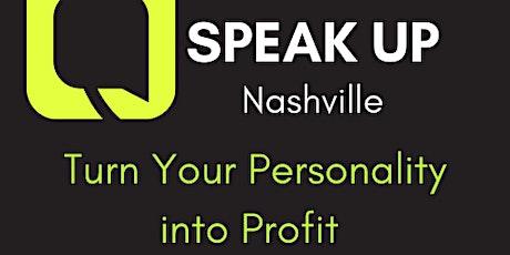 Speak Up tickets