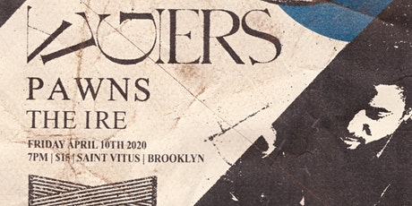 Second night added! Algiers, Pawns, Ire tickets