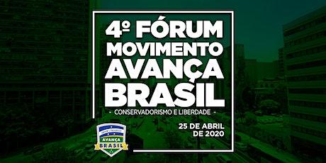 4º Fórum Avança Brasil ingressos