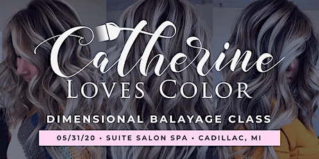 Dimensional Balayage Class with Catherinelovescolor tickets