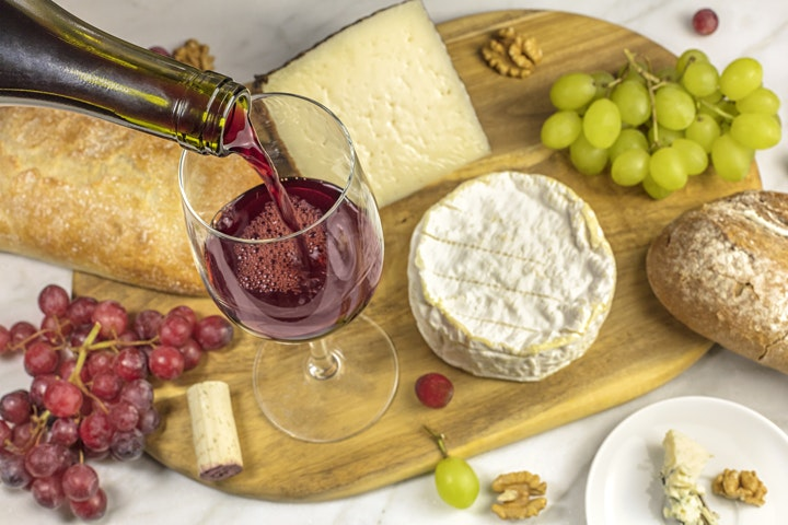 Wine and Cheese Networking image