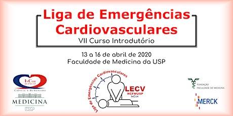 Curso Introdutório à Liga de Emergências Cardiovasculares ingressos