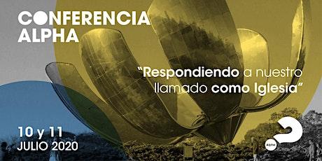 Conferencia Alpha Argentina entradas