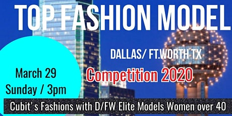 Copy of Top Fashion Model Competition who will be the top model 2020 tickets