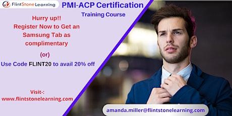PMI-ACP Certification Training Course in Crockett, CA tickets
