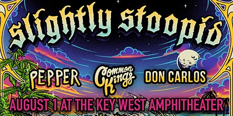 Slightly Stoopid w/ Pepper, Common Kings, and Don Carlos tickets