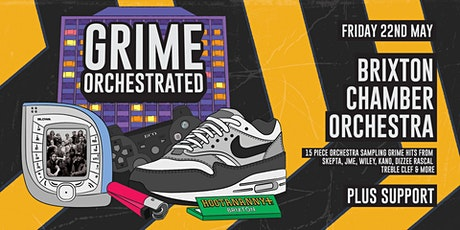 Grime Orchestrated: A 15 Piece Orchestra Performs Grime Classics & Mashups tickets