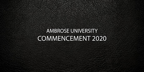 2020 UNDERGRAD Commencement Ceremony tickets