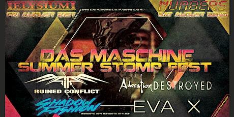 Das Maschine Summer STOMP Fest - Houston tickets