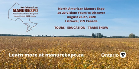 North American Manure Expo tickets