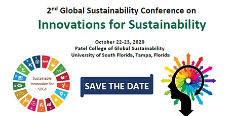 Global Sustainability Conference - Innovations in Sustainability tickets