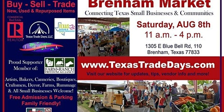 August Brenham Market | Texas Trade Days tickets