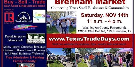 Brenham Holiday Market | Texas Trade Days tickets
