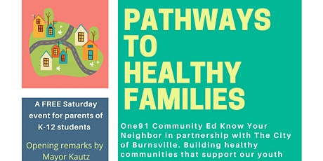 Pathways to Healthy Families tickets