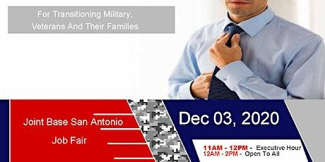 Joint Base San Antonio -Job Fair- Dec 2020 tickets