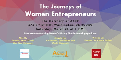 The Journeys of Women Entrepreneurs tickets