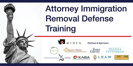 WIDEN Removal Defense Training Day For Non-Immigration Lawyers tickets